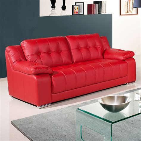 red sofas uk newham vibrant red leather sofa collection