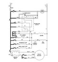 Kitchenaid Dishwasher Electrical Whirlpool Dishwasher Motor Wiring Diagram Get Free Image