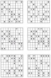 Sudoku printables sudoku to print