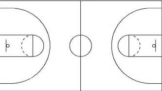 half court basketball template best photos of blank basketball court diagram blank