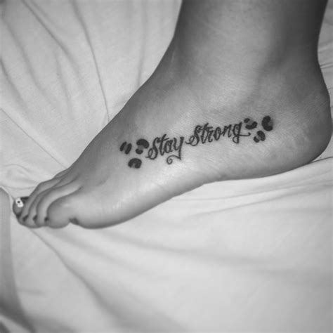 stay strong infinity tattoo my stay strong with cheetah spots it