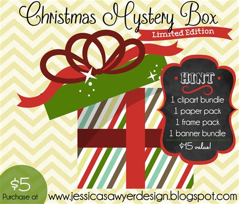 christmas mystery box closed jessica sawyer design