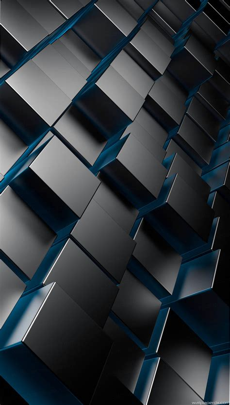android blue wallpaers hd wallpaper 3d abstract wallpapers 3d metal cubes android iphone full hd wallpaper