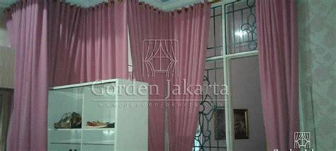 Gorden Balckout Minimalis Sahbyychik Pink contoh gorden blackout minimalis warna pink di pondok