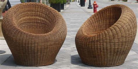 rattan chair by isamu kenmochi pair of wicker chairs attributed to isamu kenmochi at 1stdibs