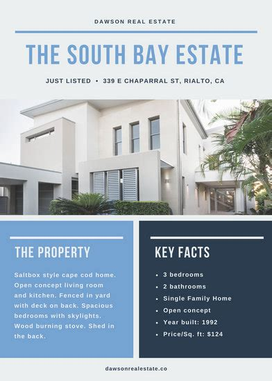 canva real estate real estate flyer templates canva