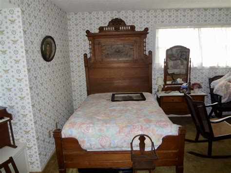 rocking bed frame antique cane couch rocking chair bed frame and buffet collectors weekly