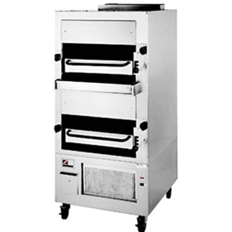 Commercial Kitchen Broiler southbend 270 upright deck commercial infrared char