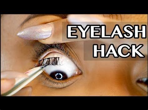 tutorial video reverse reverse eyelash tutorial irisbeilin youtube pinteres