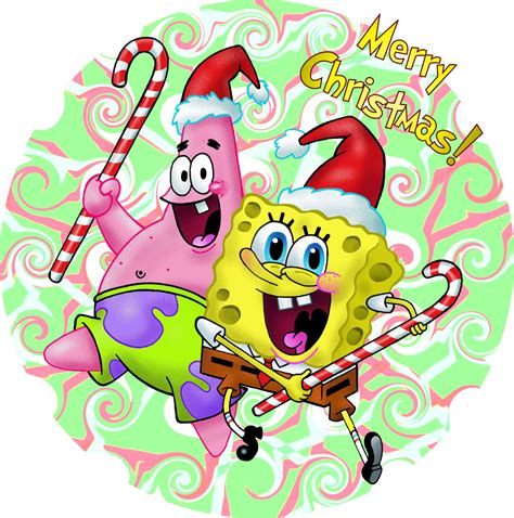 a spongebob christmas by gjones1 on deviantart