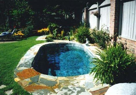 swimming pools in small backyards small backyard pools ideas 2016 decoration y