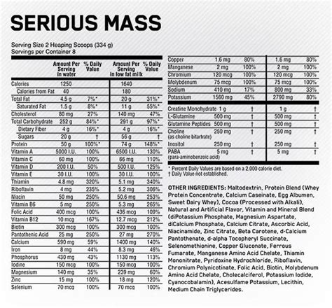 Optimum Nutrition On Serious Mass 2 Kg Repack Trial Size Weight Gainer optimum nutrition serious mass review