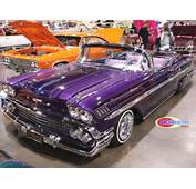 Custom Classic Car And Low Riders Showcased In San Diego Show