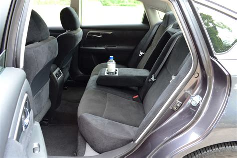 nissan altima interior backseat drive 2013 nissan altima review