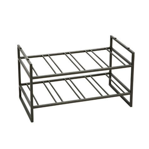 Container Store Wine Rack by Iron Stacking Wine Racks The Container Store