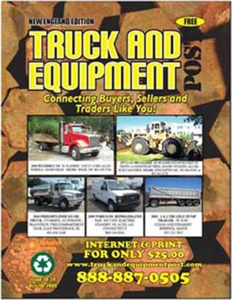paper book trailer construction equipment big trucks magazine ads