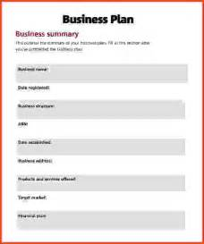 business plan template simple simple business plan sponsorship letter