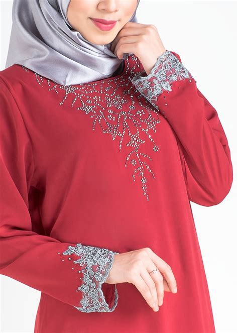 baju fesyen beboder kurung border lace kanak kanak baju kurung moden safiyya