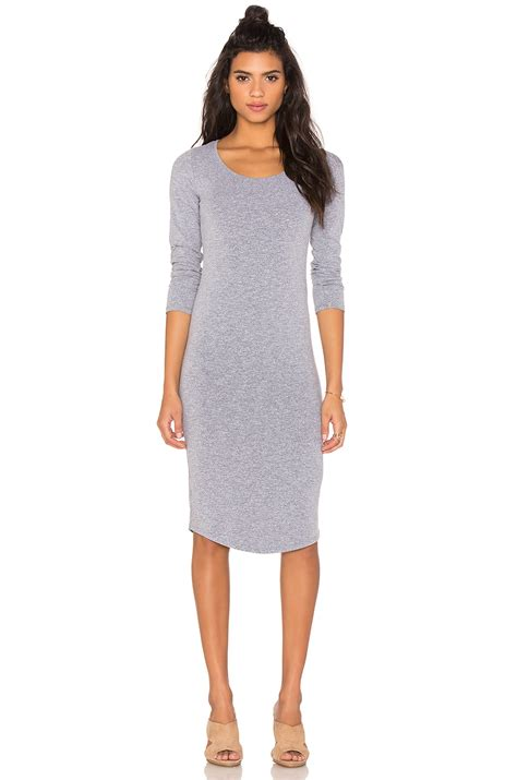 Dress Monrow Ym 1 monrow collection sleeve dress lyst