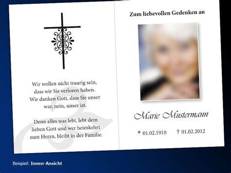 Word Vorlage Trauerkarte Sterbebilder Drucken Schnell G 252 Nstig