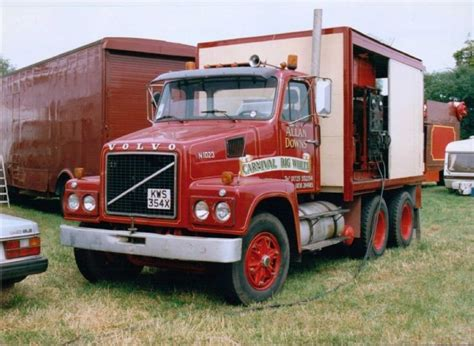 old volvo trucks volvo n1023 allan downs volvo trucks oldtimers