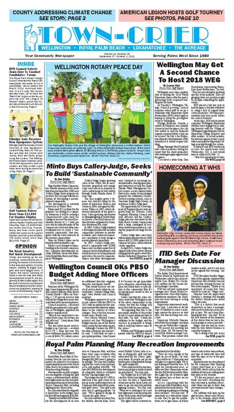 the high council royal institute of magic volume 6 books town crier newspaper september 27 2013 by wellington the