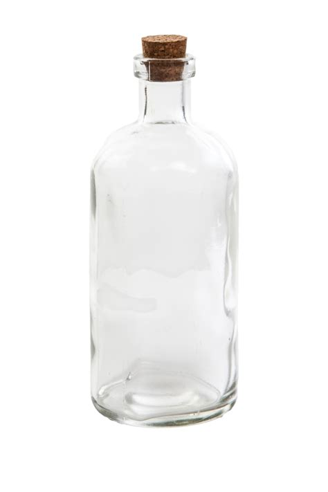 Small Kitchen Design Uk by Small Clear Glass Message Bottle With Cork H14cm