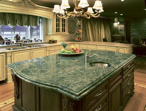 Green Countertops Green Island Countertop Photo Gallery