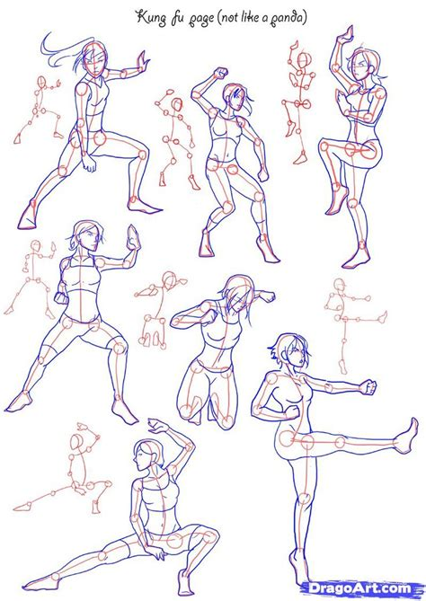 anime poses how to draw anime poses how to draw fighting poses step