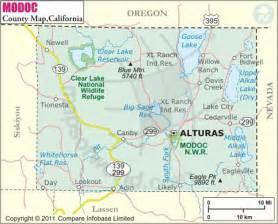 alturas california map modoc county map modoc county