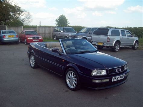 Audi Cabriolet 1997 by 1997 Audi Cabriolet Information And Photos Momentcar