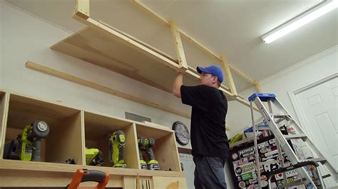2 Car Garage With Loft by Wasted Space Garage Storage Shelves Jays Custom Creations
