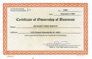 Business License Template gallery we ve done business license