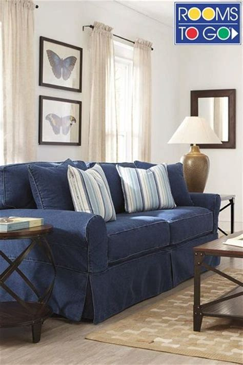 Rooms To Go Sofa Covers by Blue Denim Sofas Plans Denim Living Room Furniture With
