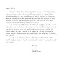 Sle Letter Of Recommendation For High School Student by Best Photos Of High School Recommendation Letter Sle High School Student Recommendation