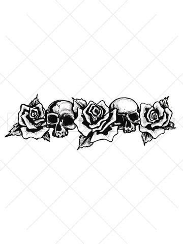 rose armband tattoos skull armband armband and