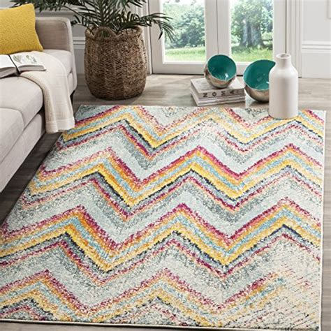 Cheap Safavieh Monaco Collection Mnc220f Modern Chevron Chevron Area Rugs Cheap