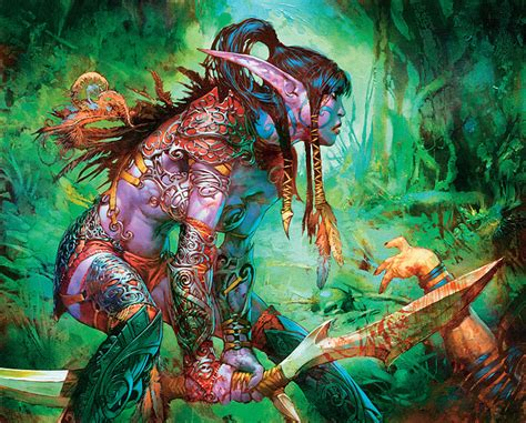 Kartu Warcraft Tcg Common Card Kavai The Wanderer tcg through the portal 173 wowpedia your wiki