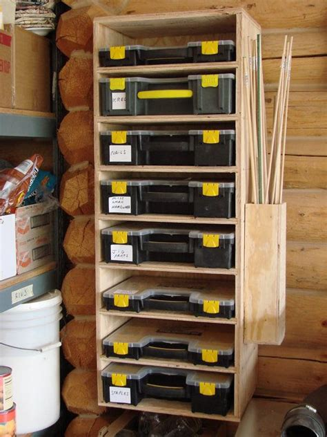 tool bench hardware storage the rest of the shop by c plus woodworker lumberjocks