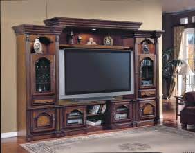 portofino 4 piece entertainment center by parker house