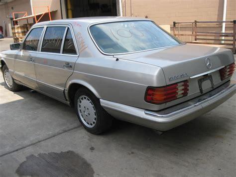 1987 mercedes 560sec parting out 1987 mercedes 560sec 100441 tom s