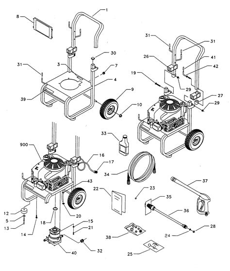 craftsman pressure washer parts diagram pressure washer parts pressure washer parts wisata dan