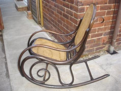 antique thonet bentwood rocking chair armchair 195231 antique thonet bentwood rocking chair armchair 195231