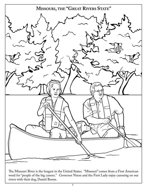 free coloring pages of lewis and clark