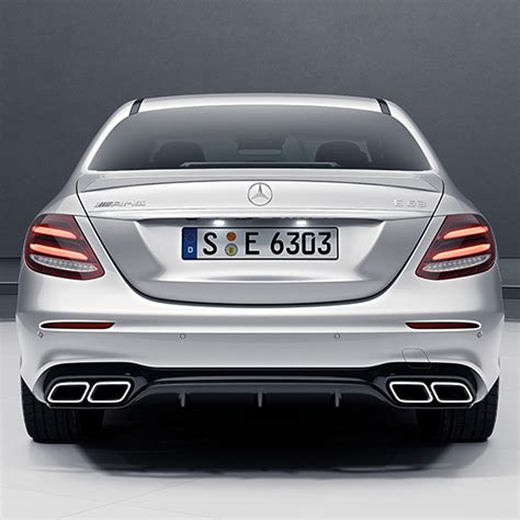 amg  diffuser exhaust tips  genuine mercedes benz