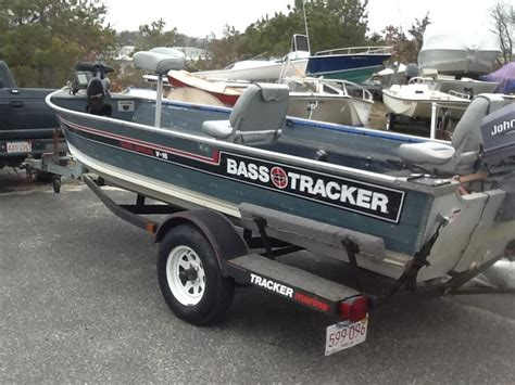 bass tracker boats sale 1986 bass tracker 16 fisherman power boat for sale www