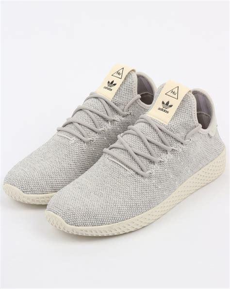 White Pw Casual Tali adidas pw tennis hu trainers grey white pharrell williams shoes