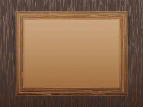 frame templates brown wooden frame powerpoint templates border frames