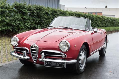 classic car service 1961 alfa romeo giulietta lhd classic car service