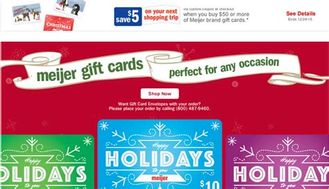 Amazon Gift Card Meijer - meijer get free 5 for buying meijer gift cards a mitten full of savings